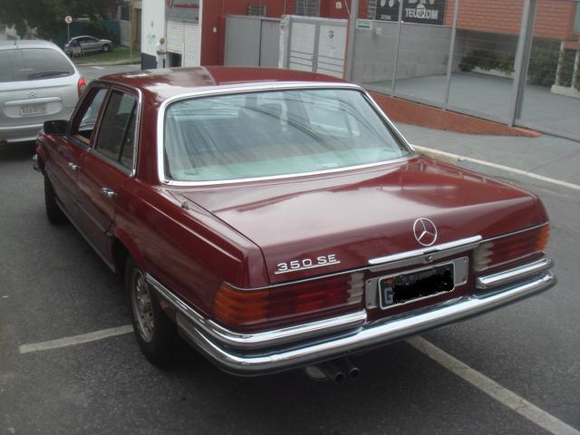 W116 350SE 1979 - R$29.000 A746387